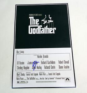 Al-Pacino-Michael-Corleone-The-Godfather-Signed-Autograph-Movie-Poster-COA