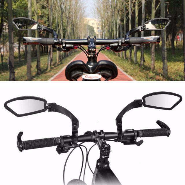 Bike Rear View Safety Bicycle Cycling Eye Mirror Road Touring Handlebar MTB New