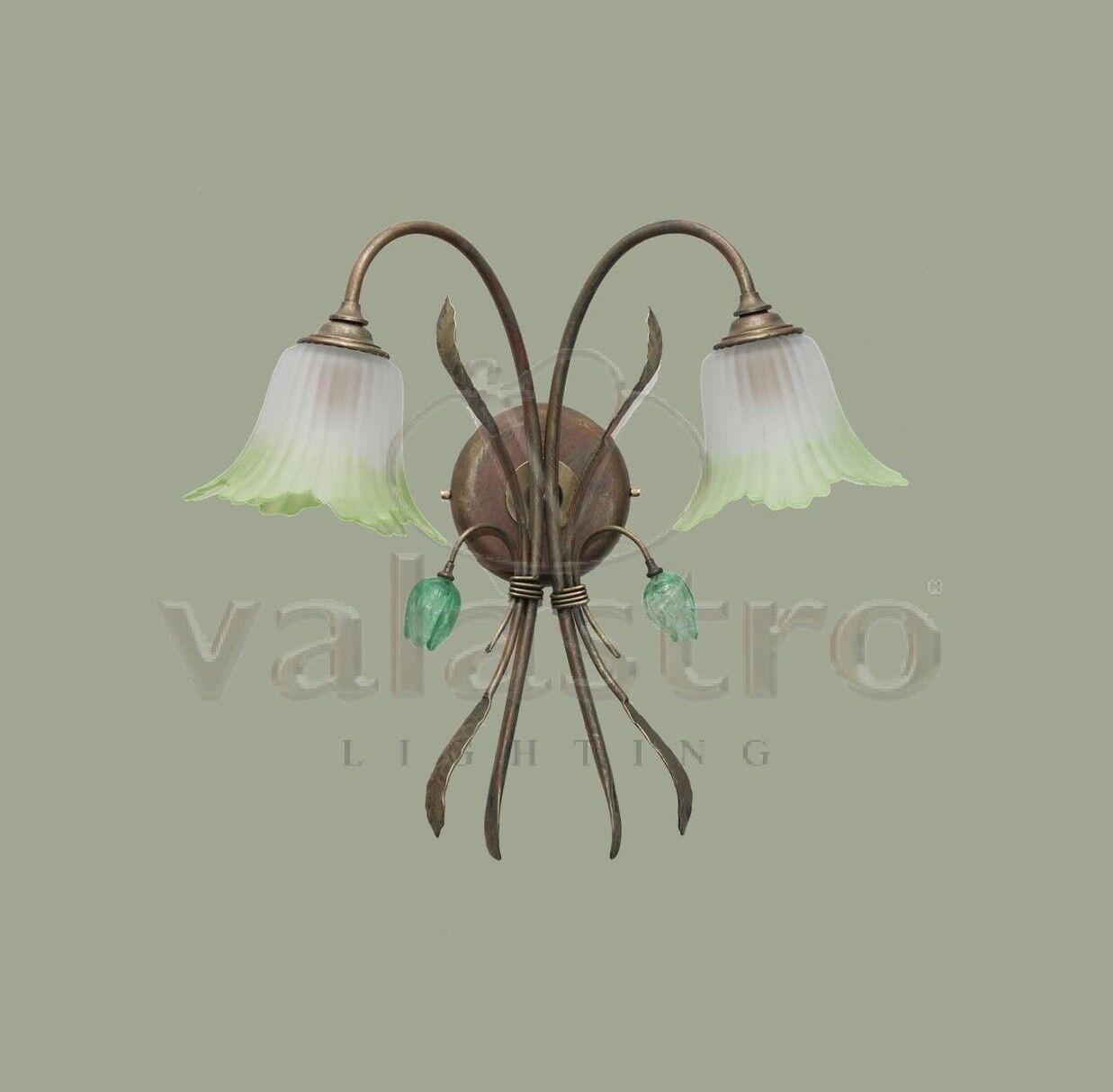 Lampada a parete applique Ferro Battuto prodotto in Italia da Valastro Lighting