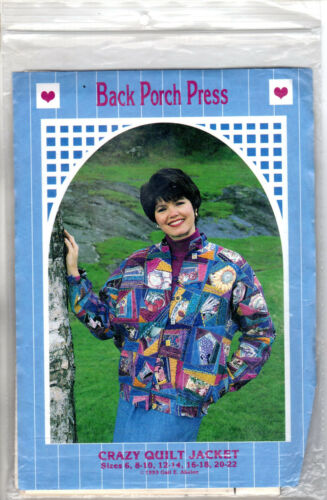 CHOICE Back Porch Press Sewing Quilting Patterns Misses/' Child/'s Jackets Vests