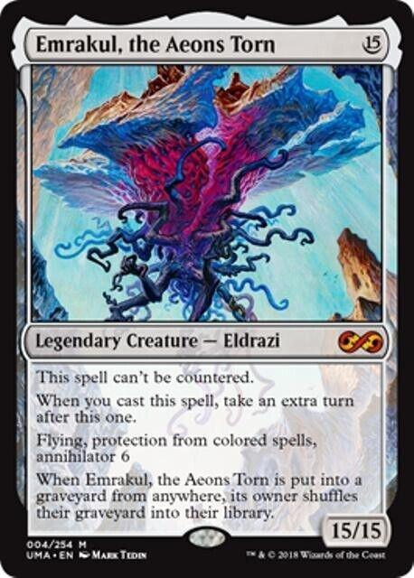 EMRAKUL, THE AEONS TORN Ultimate Masters Masters Masters MTG Creature — Eldrazi Mythic 29b468