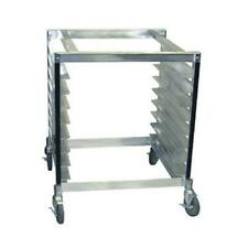 Cadco Ost 195 Full Size Heavy Duty Oven Stand With Wheels
