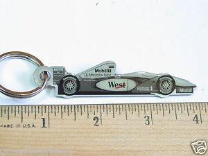 StoßFest Und Antimagnetisch Kenntnisreich David Coulthard Formula One Racer Schlüsselanhänger Metall Schlüsselanhänger Wasserdicht Automobilia