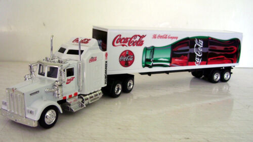 KENWORTH W900 Semi Trailer 1//43 Trucks  Diecast Coca Cola  Custom Graphics