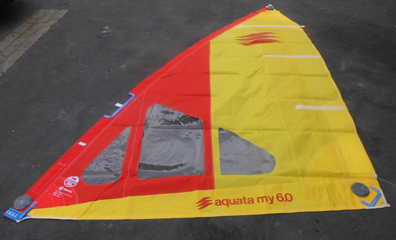 Surfsegel High Clew  6m² NORTH SAILS MY 6 qm