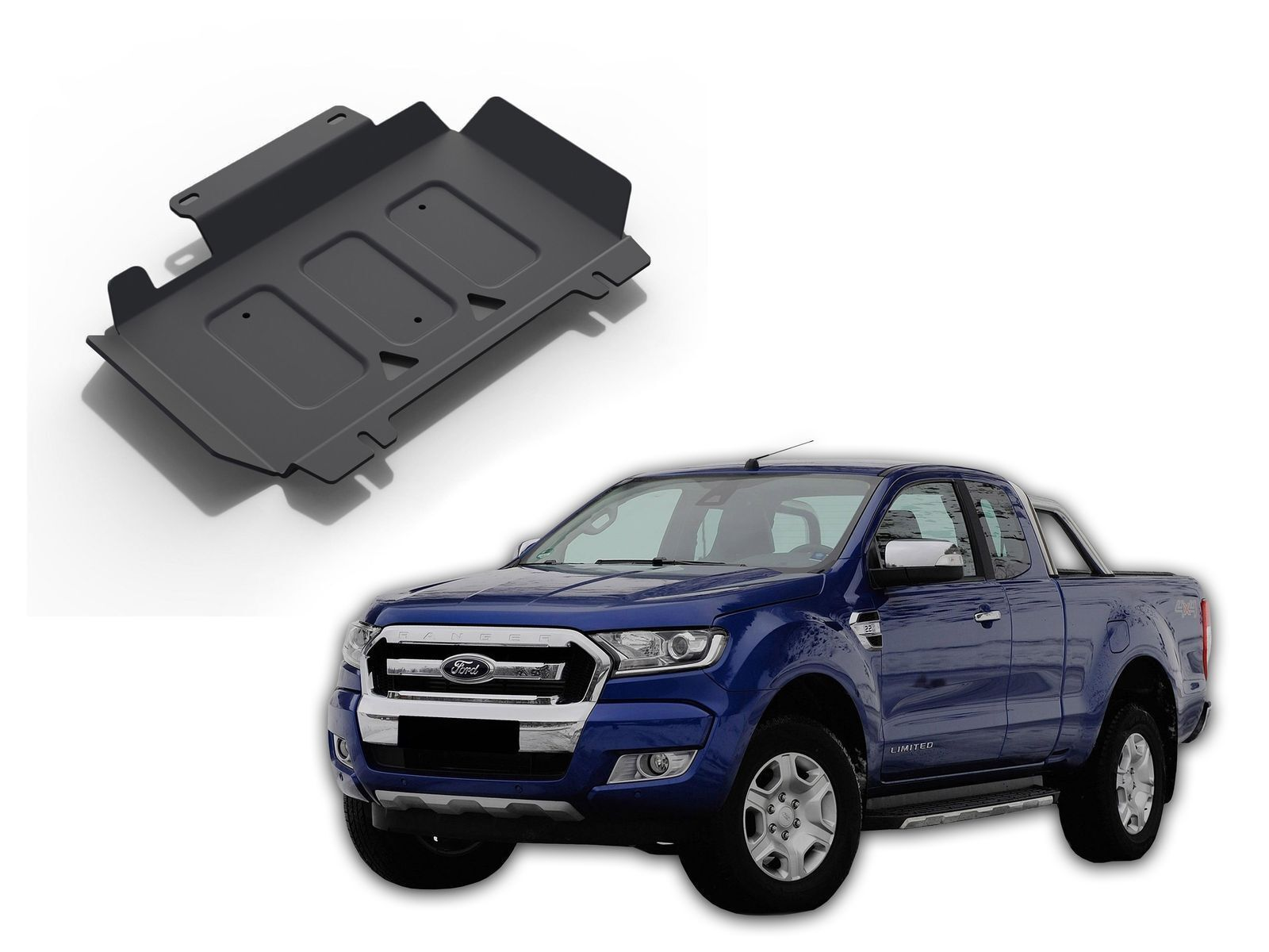 Installation Kit Motor Protection Suitable for VW T5 T6 Skid Plate
