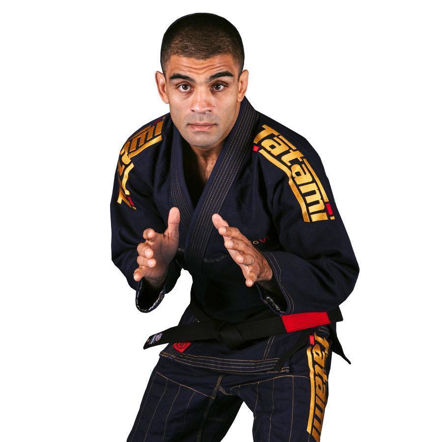 Tatami Estilo 6.0 BJJ Gi Navy & gold Brazilian Jiu Jitsu Uniform Mens Suit 6