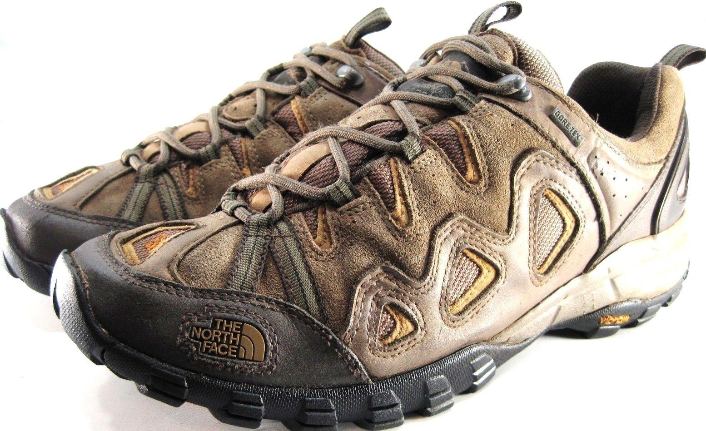 North Face Men Athletic shoes Size 11.5 Euro 45 Brown Khaki Gore Tex Vibram