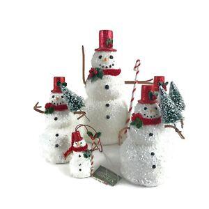 5-Seasons-of-Cannon-Falls-Snowman-Figurines-Ornament-Glitter-Hallmark-Christmas
