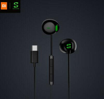 Xiaomi Black Shark Type C Earphones Gaming Headset Black Headphones 1 2 Pro Helo Ebay