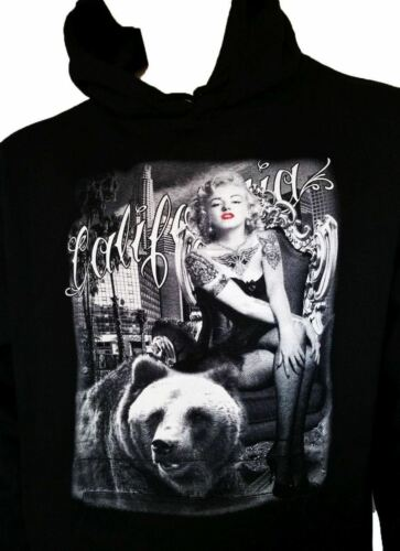 California Marilyn Monroe Bandana Pullover à Capuche Pull heavyeight