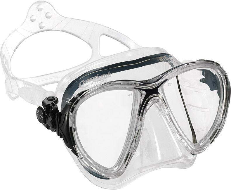 Cressi Big Eyes Evo klar clear Tauchmaske mit schmalem schmalem schmalem Rahmen 1df9a1