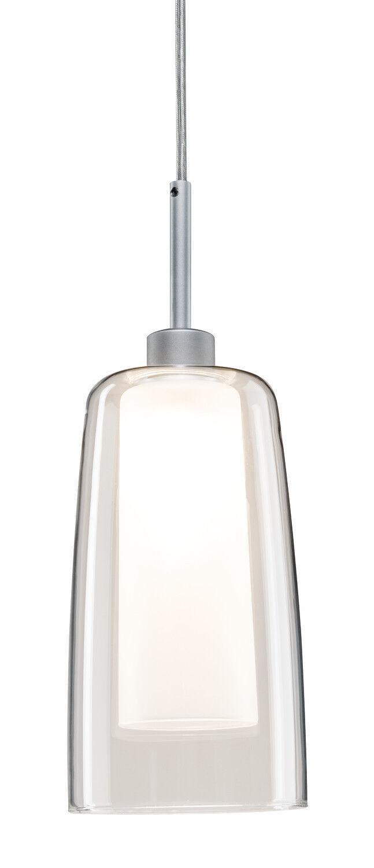 Paulmann 95360 URail Systems LED Pendulum Arido 1x3W Chrom matt Klar Satin 230V
