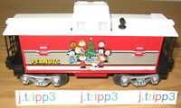 Lionel Peanuts Christmas Caboose O Gauge Toy Train Car Lighted 30193 Snoopy Xmas