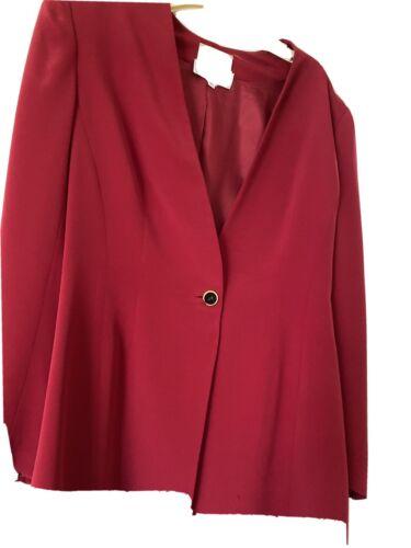 badgley mischka Women's Vintage Blazer 8 Buttons O