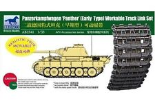 BRONCO AB3541 1/35 Panzerkampfwagen V Panther Workable Track Link Early Type