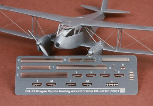 SBS Model 72051 1//72 Dh-89 Dragon Rapide rigging wire set for Heller kit