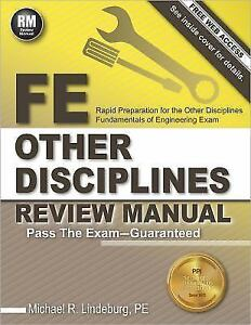 Fe other disciplines review manual by pe michael r lindeburg 2014 fe other disciplines review manual by pe michael r lindeburg 2014 paperback new edition fandeluxe Gallery