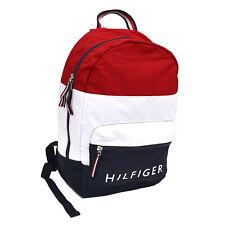 0d13729c1 item 4 Tommy Hilfiger Bookbag Canvas 2 Pocket Backpack Shoulder Bag Unisex  School New -Tommy Hilfiger Bookbag Canvas 2 Pocket Backpack Shoulder Bag  Unisex ...