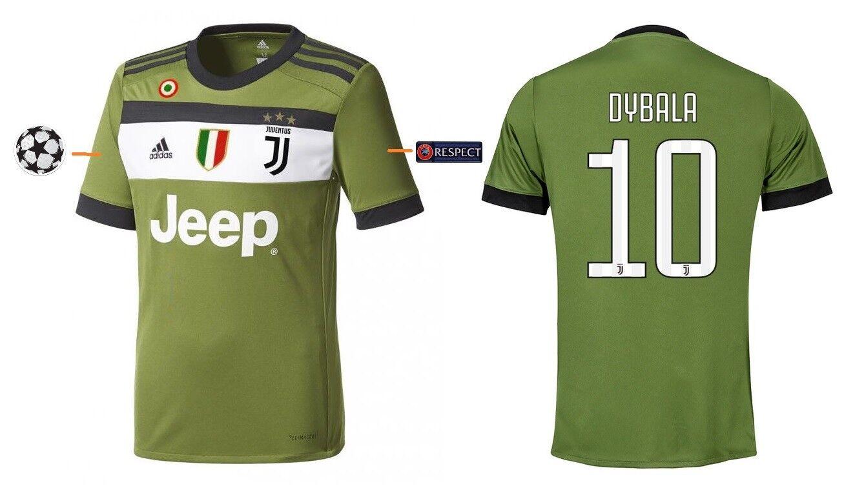 Trikot Juventus Turin 2017-2018 Third UCL - Dybala  10  Dybala Champions League 1af83a