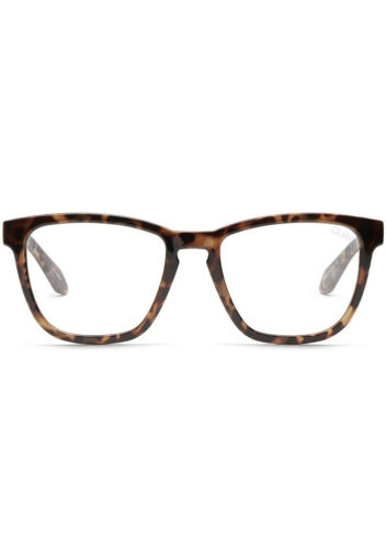 NEW QUAY AUSTRALIA Blue Light Hardwire Glasses in Tortoise//Clear SALE