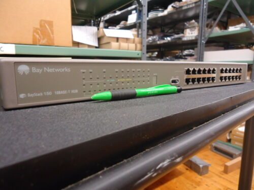 CG1001A11 NORTEL NETWORKS BAYSTACK 150 24P HUB//NMM ONLY BRAND NEW!