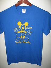 Walt Disney Disneyland Disney World Mickey Mouse Family Reunion 2014 T Shirt Sm