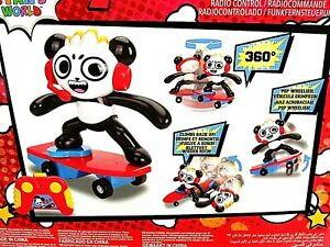 Ryan-039-s-World-Combo-Skate-Board-Radio-Control-Panda-Stunt-Toy-NEW
