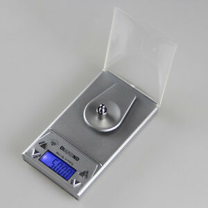 10/20/50G 0.001g LCD Digital Jewelry Scale Lab Gold Herb Balance Weight Gram DA 7485707279325