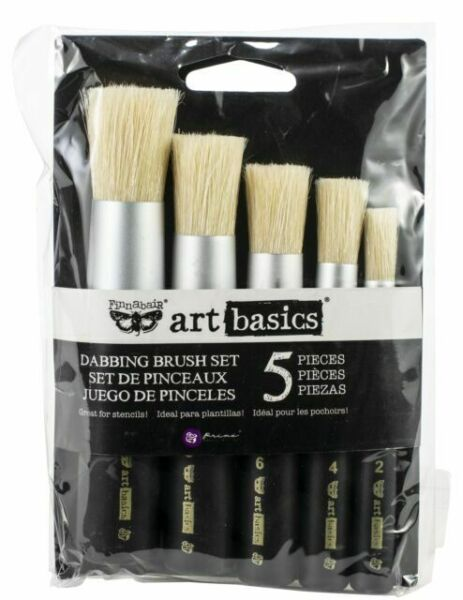 Large Dabbing Brush Prima Marketing Art Basics