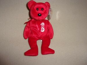 """TY MWMT MERLION THE BEAR BEANIE BABY- 8.5""""-NEW- ASIAN-PACIFIC EXCLUSIVE- PRETTY!"""