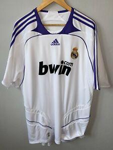 REAL MADRID 2007 2008 HOME FOOTBALL SHIRT SOCCER JERSEY ADIDAS XXl ...
