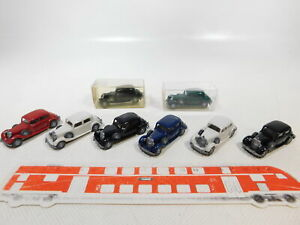 Ca470-0-5-8x-Wiking-1-87-h0-12-832-Oldtimer-AUTO-Mercedes-260-D-molto-gut-2x-OVP