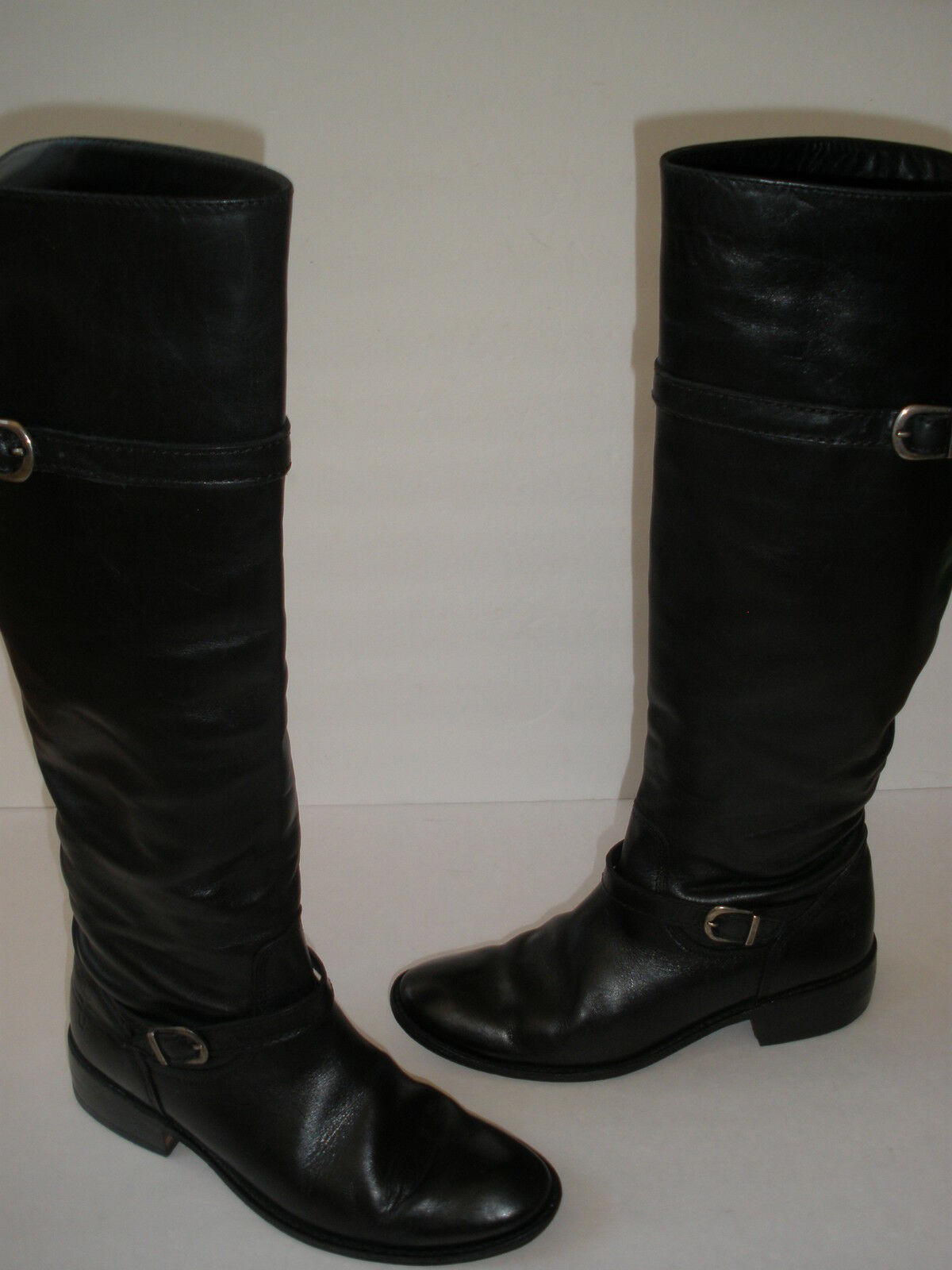 FRYE LEATHER RIDING RIDING RIDING BOOTS size   5.5 HOT MADE IN MEXICO M T HAVE IT WOW 550960