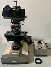 Olympus Bh Interferencephase Contrast Sw Trinocular Microscope