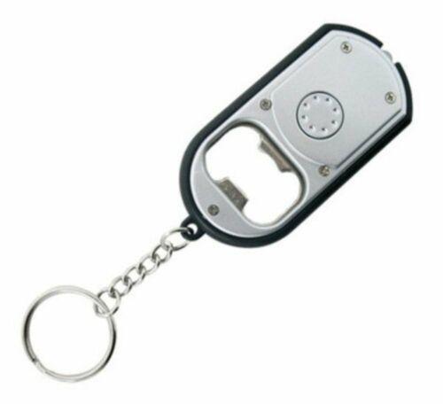 Swiss Tech DEL lampe de poche Porte-Clés Avec Ouvre-bouteille #ST33340