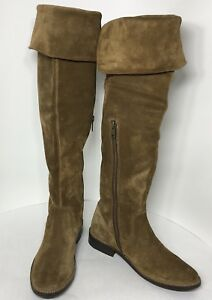 8d490c21cc4  447 size 5.5 Frye Shirley Fatigue Oiled Suede Over The Knee Boots ...