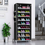 10-Schicht-Schuhschrank-Schuhablage-Schuhregal-Schuhstaender-Vliesstoff-4-Farben Indexbild 9