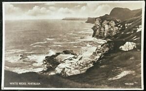 White Rocks Portrush Co Antrim Postcard