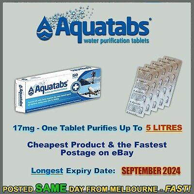 100 Water purification tablet OASIS AQUATABS