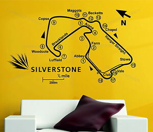 Image is loading Silverstone-Race-Track-Circuit-Map-F1-MOTO-GP- : race track wall decals - www.pureclipart.com
