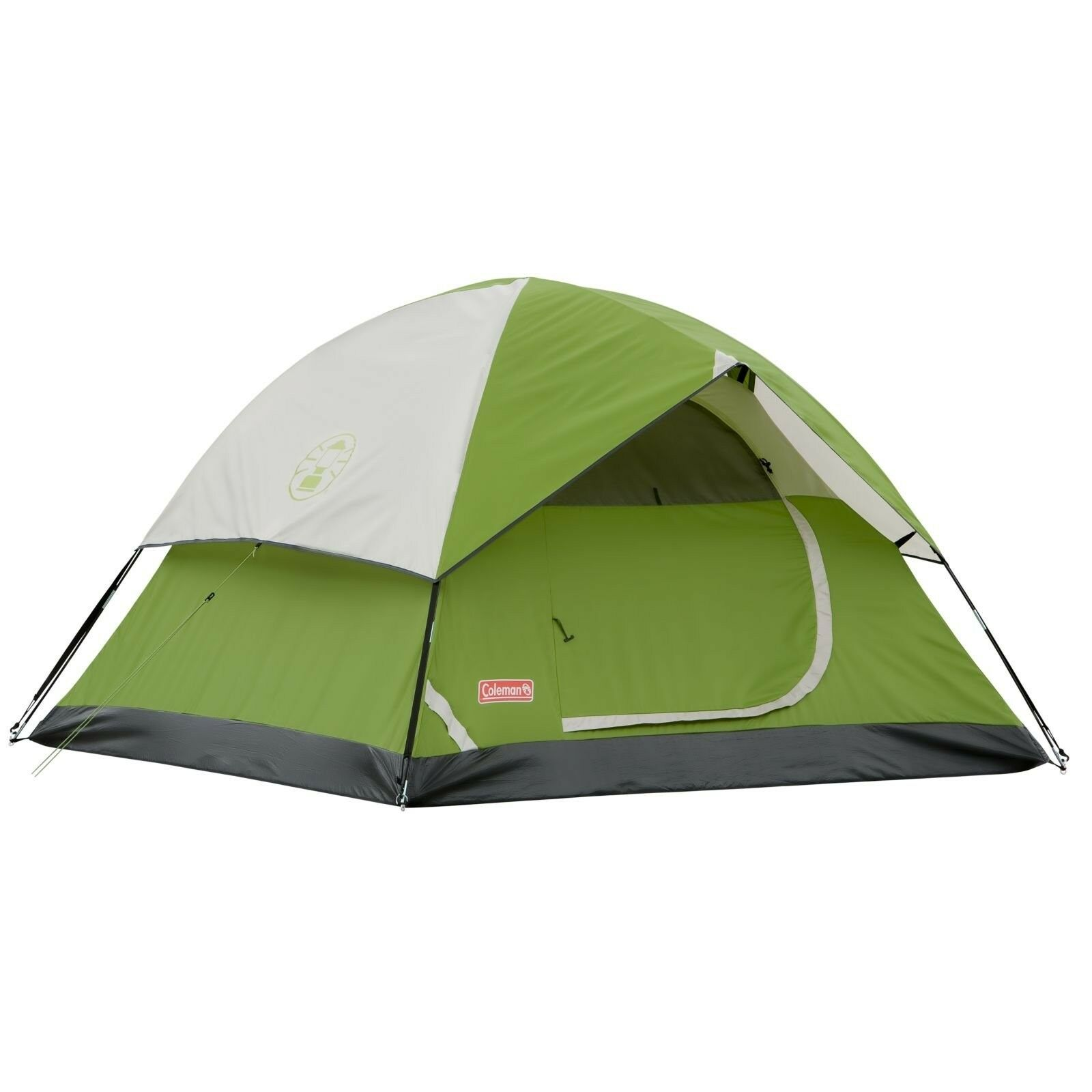 New Coleman Sundome Tent Green 4-Person - Clearance  Ships FAST