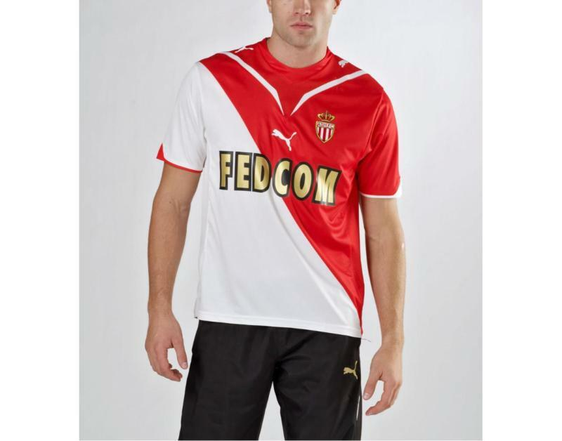 NwtPuma AS MONACO FC France Ligue Football Soccer Jersey shirt TopMens Dimensione M