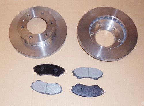 Mazda Pick Up 2.5TD Front Brake Discs 2.5D 2002-2006 Pad Set Ford Ranger