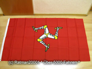 Fahnen Flagge Isle of Man - 90 x 150 cm