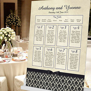 Personalised-Damask-Design-Wedding-Seating-Table-Plan-Canvas-Board-Paper