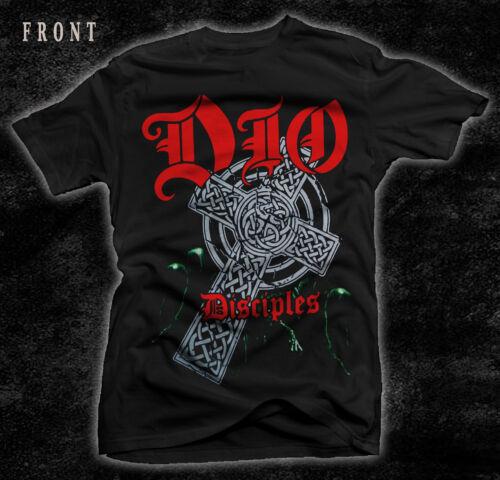 Disciples-Heavy metal-Whitesnake T/_shirt-sizes:S to 7XL DIO-Ronnie James Dio