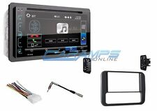 "NEW 6.2"" SOUNDSTREAM STEREO RADIO & BLUETOOTH & CD & DVD PLAYER W/ INSTALL KIT"