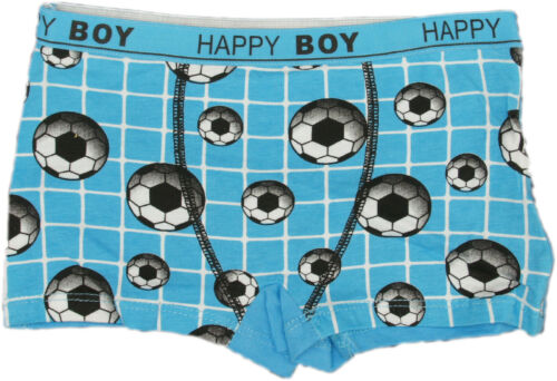 Boxershort Unterhose Boxershorts Kinder Unterhosen Unterwäsche Fussball Jungen
