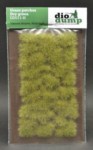 DioDump-DD011-H-6mm-realistic-grass-patches-DRY-GREEN-diorama-scenery